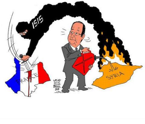 Το πιο γαμάτο σκίτσο για τον Γάλλο πρόεδρο Φρανσουά Ολάντ….