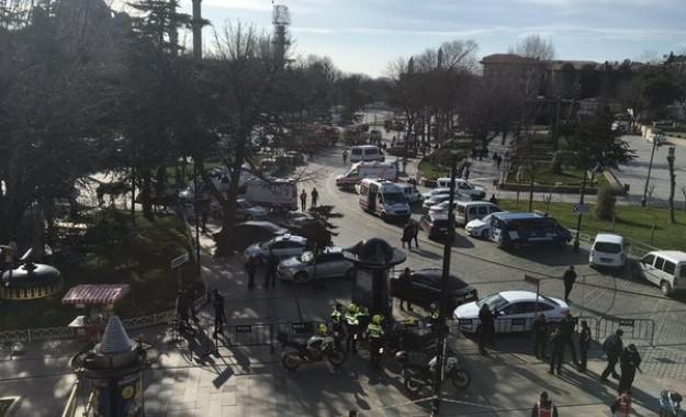 Έκρηξη με 10 νεκρούς και 15 τραυματίες στην Κωνσταντινούπολη