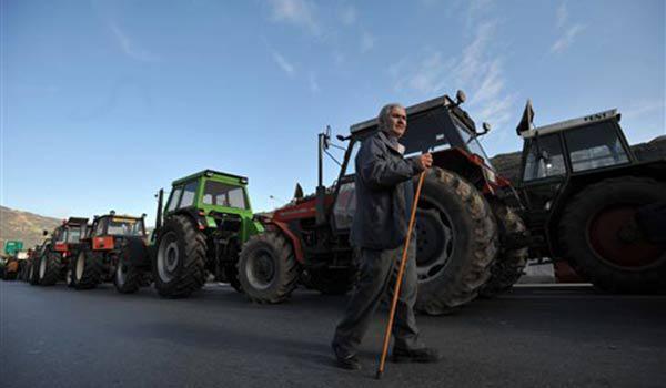 Και οι αγρότες του Ηρακλείου στο συλλαλητήριο στην Αθήνα