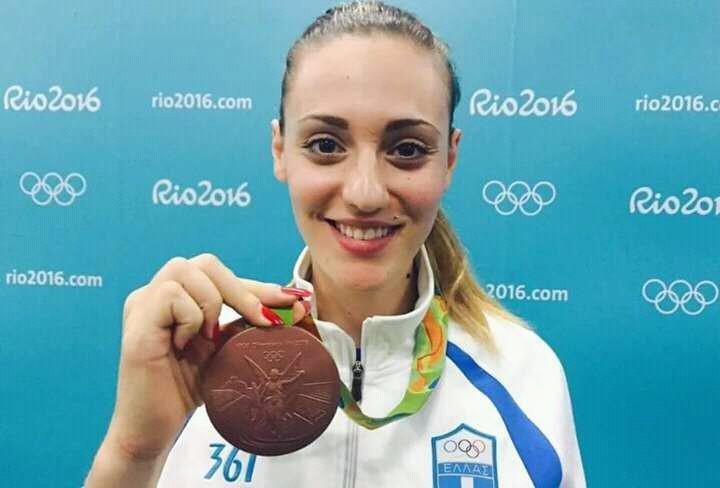 Δεν θα δηλώσει στο περιουσιολόγιο τελικά το χρυσό μετάλλιο η Άννα Κορακάκη ☺