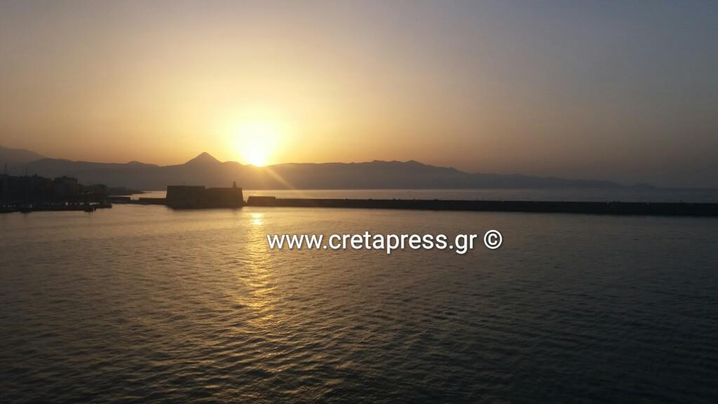 Αποχαιρετώντας το κάστρο στο Ηράκλειο Κρήτης