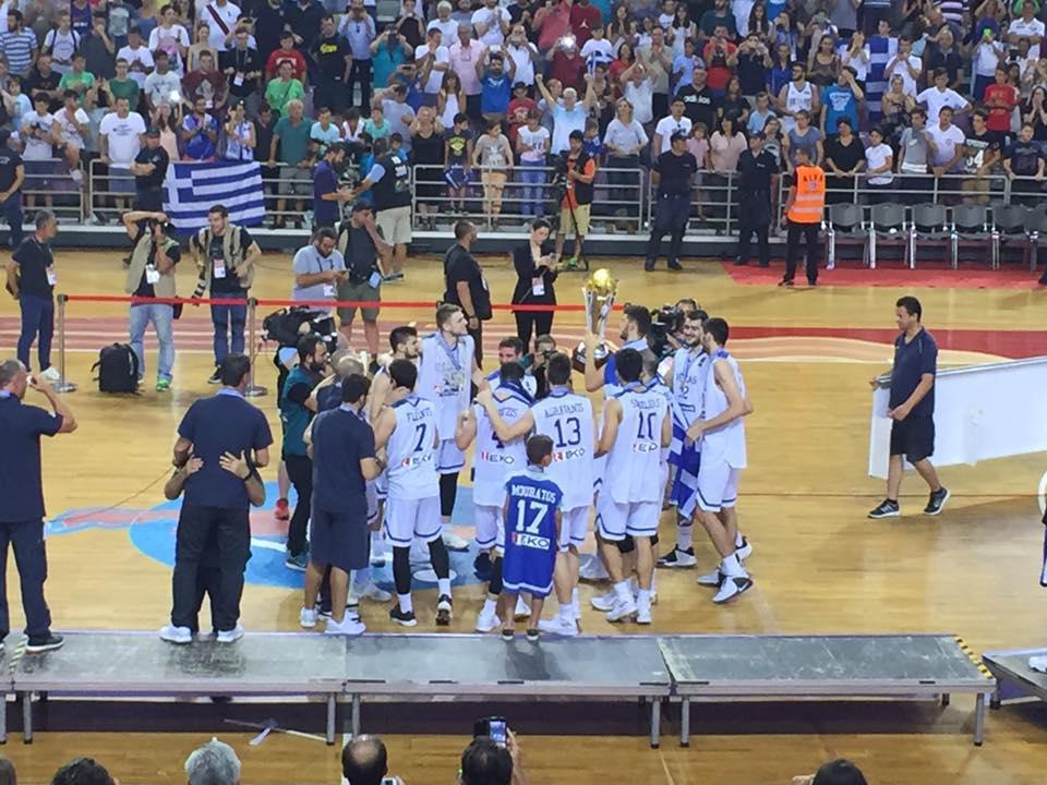 Eurobasket U20: Η Ελλάδα νίκησε το Ισραήλ και πήρε το κύπελλο στο Κρητικό έδαφος!