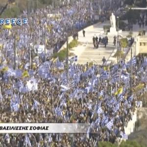 Ζωντανή μετάδοση από το συλλαλητήριο στο σύνταγμα για την Μακεδονία