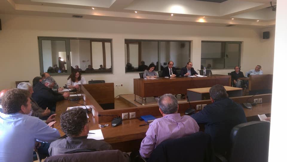 Σύσκεψη στο Δήμο Αρχανών-Αστερουσίων για το θέμα της λειψυδρίας