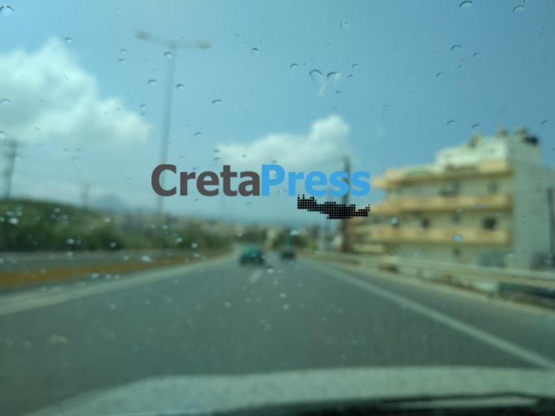 Ηράκλειο: Βλέπεις τις σταγόνες και λες ήρθε η βροχή!