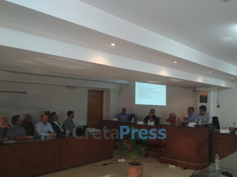 Σε εξέλιξη η 2η σύσκεψη της ΝΔ για την λειψυδρία στις Μοίρες