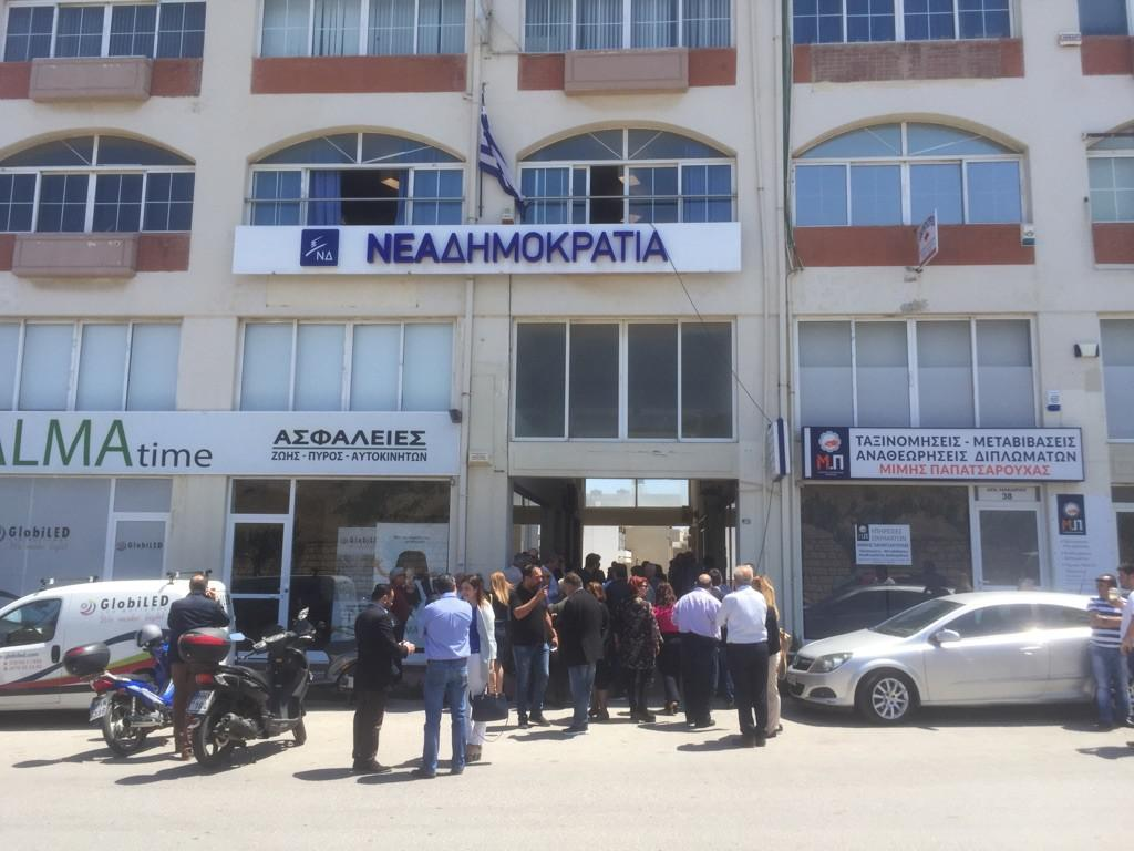 Με απόλυτη επιτυχία και μεγάλη συμμετοχή οι εσωκομματικές  εκλογές της ΝΔ στο Ηράκλειο