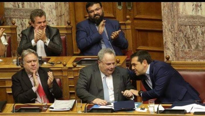 Απορρίφθηκε η πρόταση μομφής κατά της κυβέρνησης για το Σκοπιανό – Έχασαν έναν βουλευτή οι ΣΥΡΙΖΑ/ΑΝΕΛ