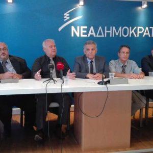 Συνέντευξη Τύπου του Τομέα Υγείας της ΝΟΔΕ Ηρακλείου