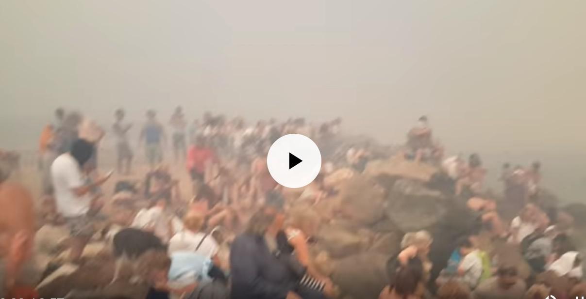 Οι δραματικές στιγμές των κατοίκων όταν η πυρκαγιά έφτασε στο Μάτι (Βίντεο)