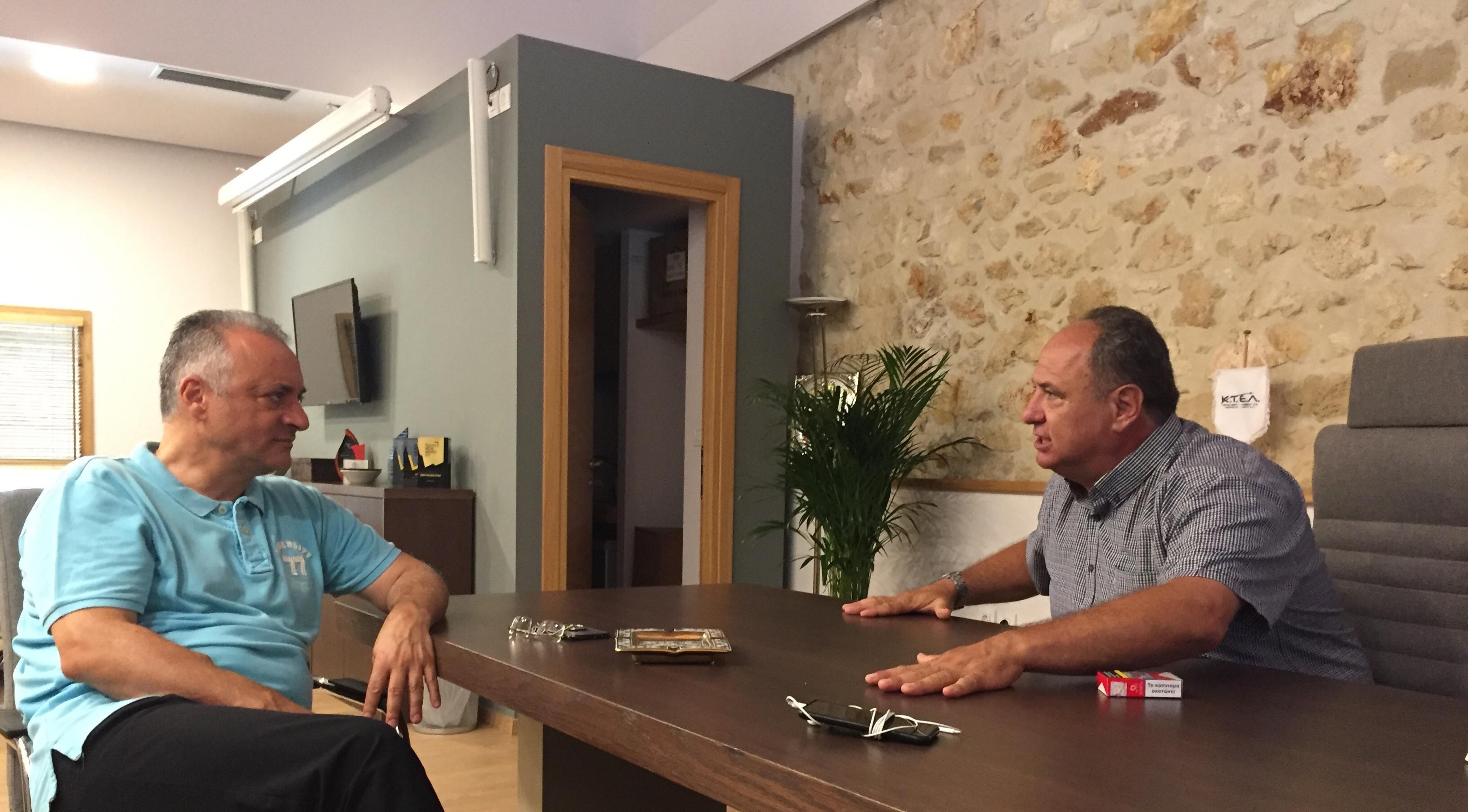 Μανώλης Κεφαλογιάννης: Το ΚΤΕΛ Ηρακλείου αναβαθμίζει τις υπηρεσίες του προς τον πολίτη