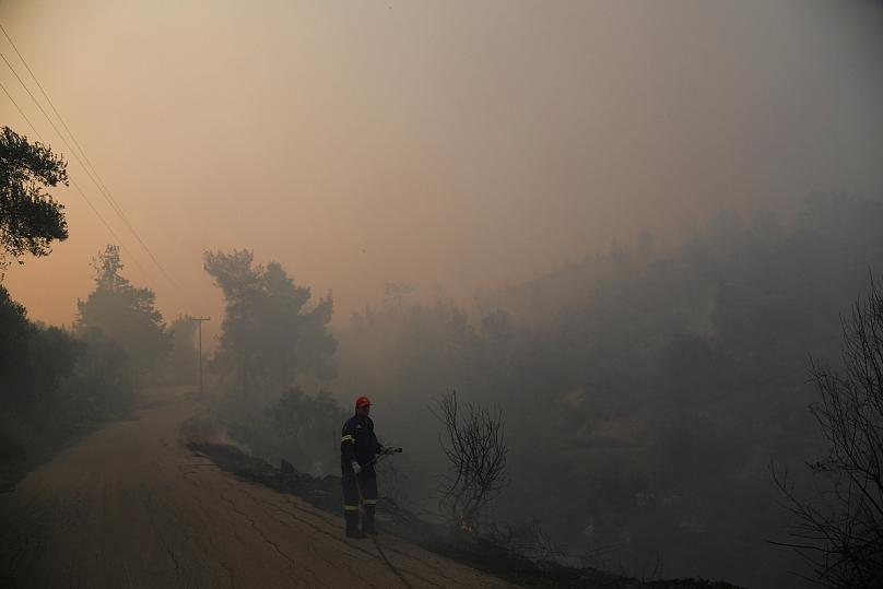 Πυρκαγιά στα Καλάβρυτα
