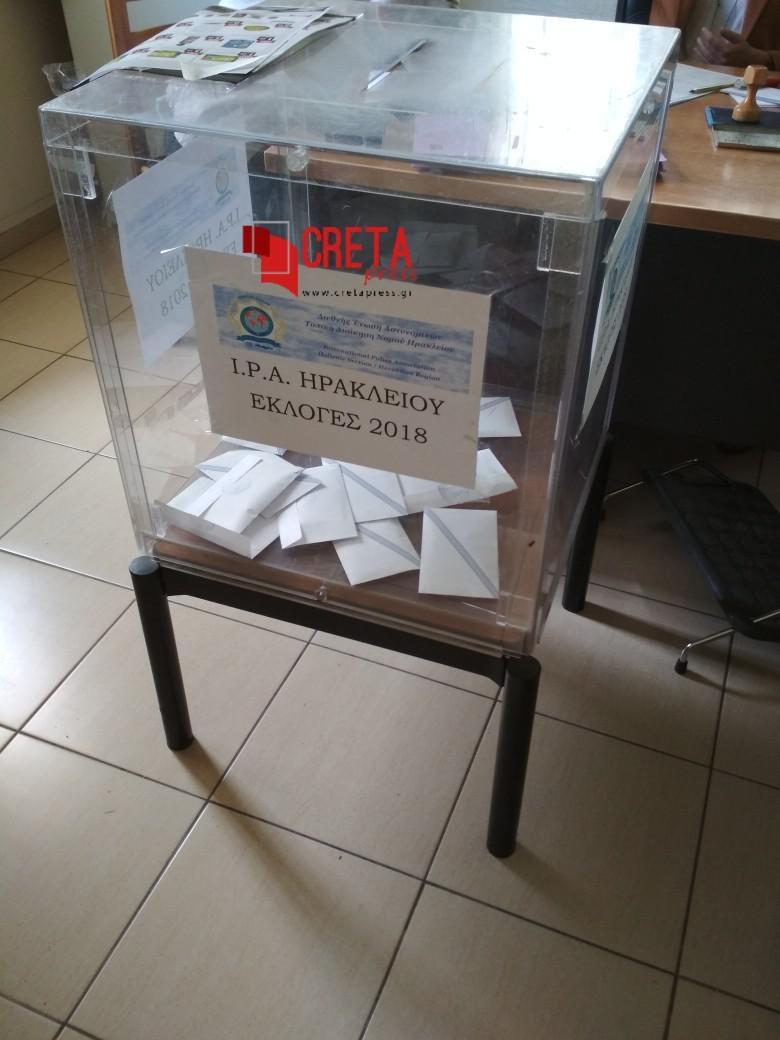 Σε εξέλιξη οι εκλογές στη διεθνή ένωση Αστυνομικών (Ι.Ρ.Α.)