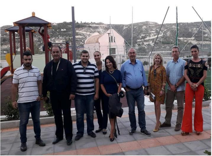 Επίσκεψη της ΝΟΔΕ Ηρακλείου στο παιδικό χωριό SOS Ηρακλείου