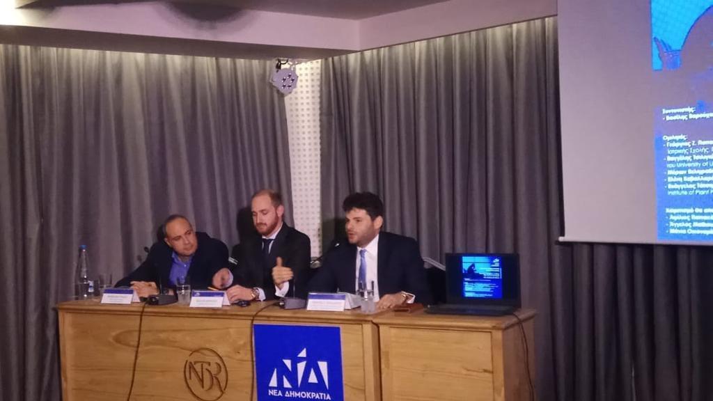 Εκδήλωση ΝΟΔΕ Ηρακλείου για τη φυγή των νέων στο εξωτερικό