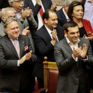 Βουλή Με 153 «ναι» πέρασε το ξεπούλημα της Μακεδονίας