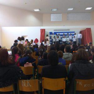Διπλή γιορτή για τον Ελληνισμό, τριπλή για το Δημοτικό Σχολείο Πύργου Αστερουσίων η σημερινή μέρα