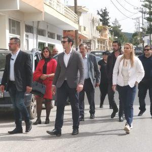 Ο Αλέξανδρος Μαρκογιαννάκης επισκέφτηκε το Ασήμι