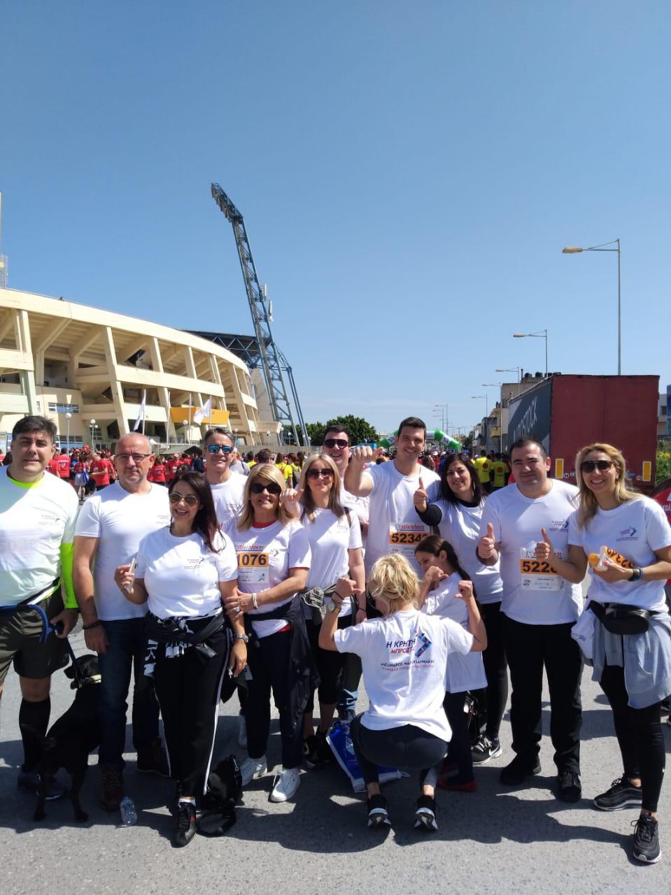 Συμμετοχή στο Run Greece απο τον συνδυασμό του Αλέξανδρου Μαρκογιαννάκη