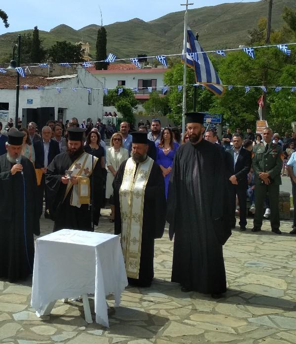 Ο Λάμπρος Βαμβακάς στην επέτειο της Μάχης της Κρήτης στο Χάρακα