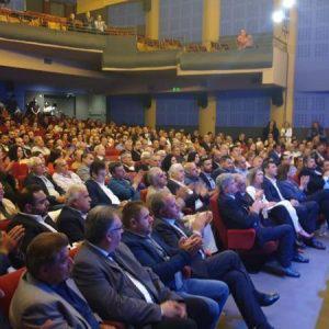Κοσμοσυρροή στην Κεντρική Προεκλογική Ομιλία του Αλέξανδρου Μαρκογιαννάκη στο Ηράκλειο