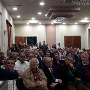 Μήνυμα εκλογικής νίκης από το Λασίθι στην Παρουσίαση Συνδυασμού «Η Κρήτη Μπροστά»
