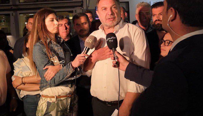 """Οι πρώτες δηλώσεις Κουράκη: """"Η αποχή καθόρισε το αποτέλεσμα"""""""