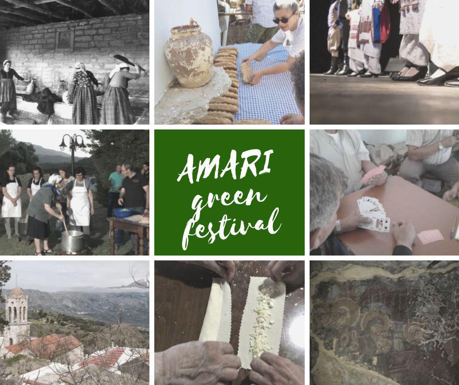 Amarigreenfestival 2019: Η μεγάλη γιορτή του Κρητικού Πολιτισμού