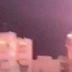 Κεραυνός πέφτει πάνω σε σπίτι στον Εύοσμο (βίντεο)