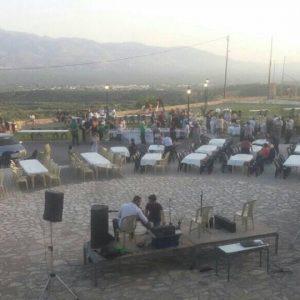 Ξεκίνησε η γιορτή των γεύσεων στο θέατρο της Φαραγγιανής Κεφάλας