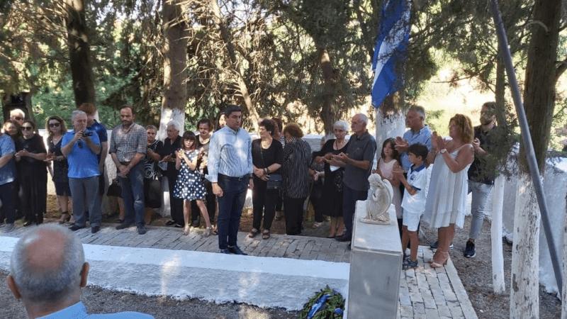 Ο Υφυπουργός Πολιτισμού & Αθλητισμού Λ. Αυγενάκης στην επέτειος Μνήμης των 27 Εκτελεσθέντων Σοκαριανών
