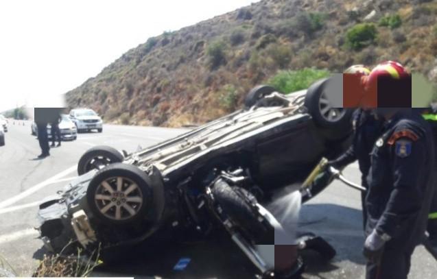 ΒΟΑΚ: Μηχανή «καρφώθηκε» σε αυτοκίνητο – Μία νεκρή και δύο τραυματίες