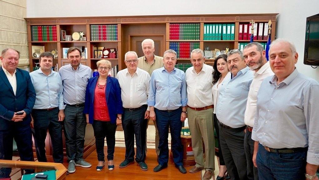 Το νέο Προεδρείο και οι Αντιπεριφερειάρχες στην Περιφέρεια Κρήτης