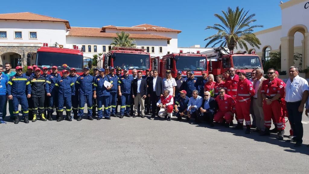 Άσκηση εκκένωσης ξενοδοχείου μετά από σεισμό παρουσία του ΓΓ Πολιτικής Προστασίας