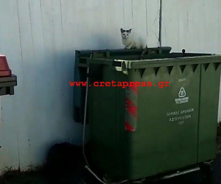 Το Μήνυμα της τοπικής κοινότητας Πύργου Μονοφατσίου για τα σκουπίδια