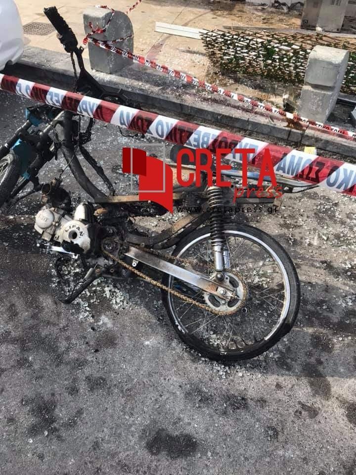 Ηράκλειο: Ισχυρή έκρηξη σε καφέ  στο κέντρο