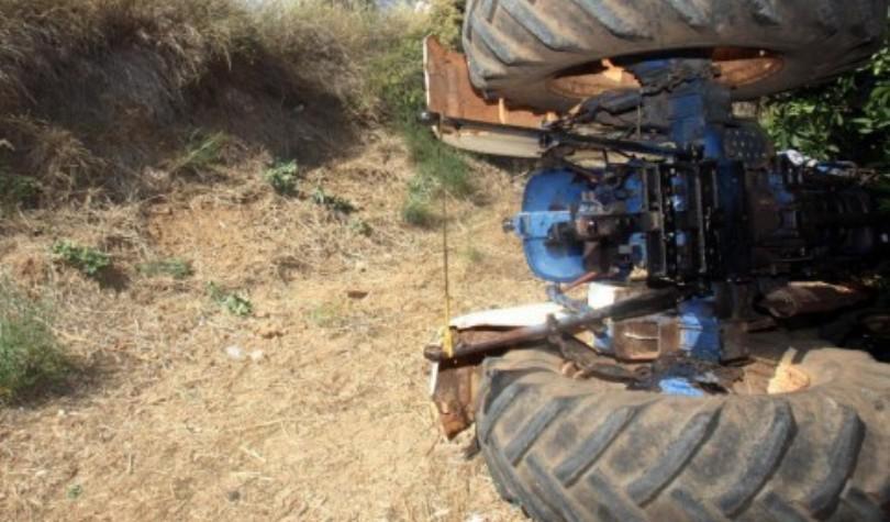 Έκτακτη είδηση: Νεκρός Αγρότης στα Αστερούσια. Τον καταπλάκωσε το τρακτέρ