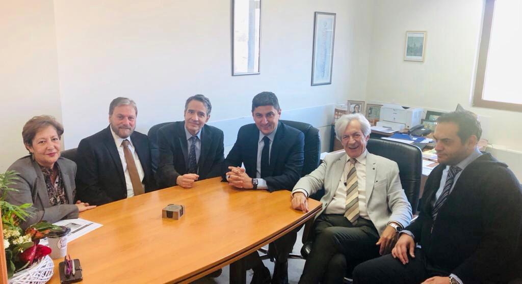 Συνάντηση Λ. Αυγενάκη με τις νέες διοικήσεις του ΠΑΓΝΗ και του Βενιζελείου Νοσοκομείου
