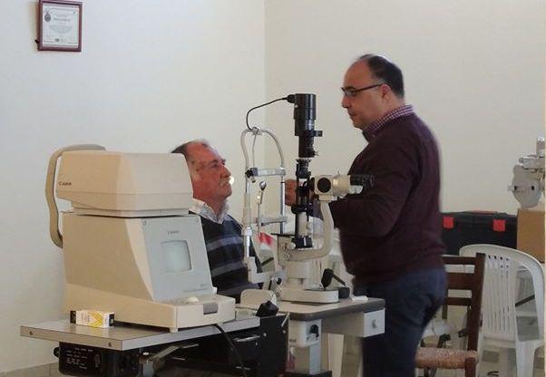 Κεραμούτσι: Οφθαλμίατροι εξέτασαν τους Κατοίκους του Χωριού