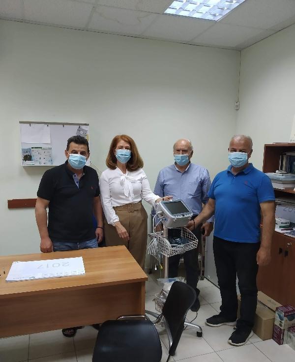 Εξοπλισμός στο Κέντρο Υγείας Χάρακα και το Ιατρείο Ασημίου