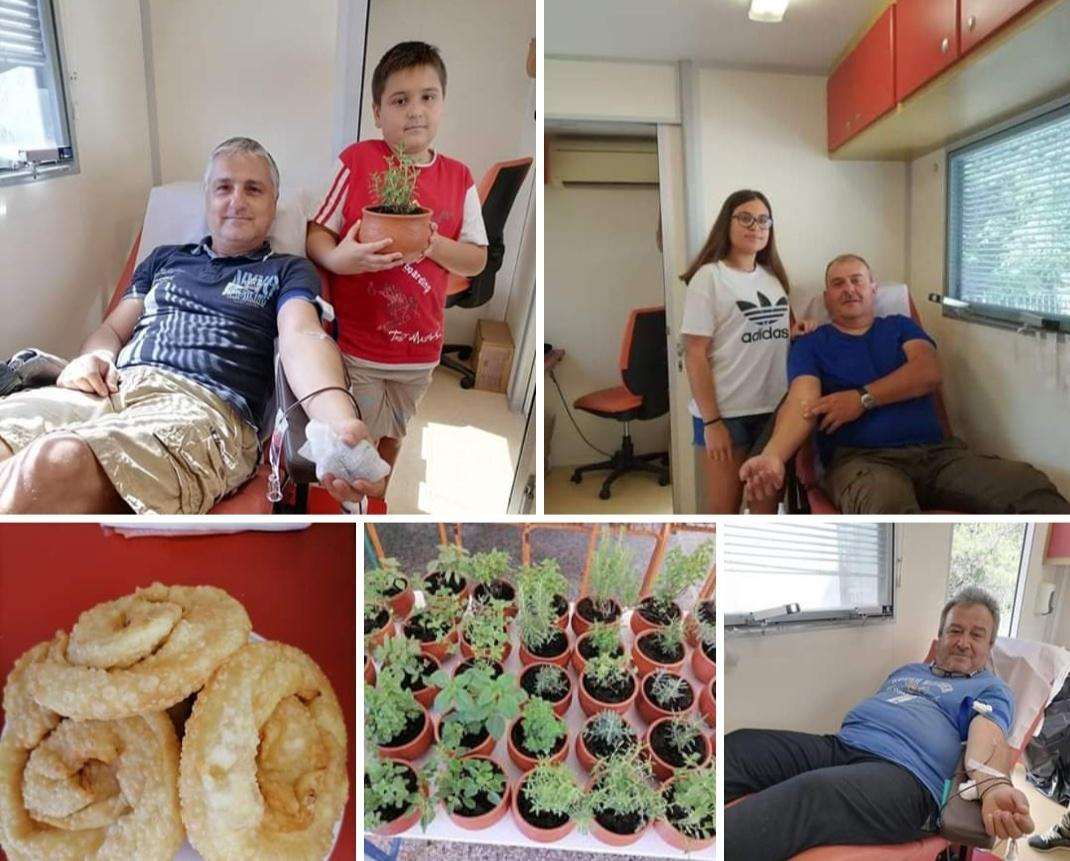 Σε εξέλιξη η 12η εθελοντική αιμοδοσία στο Μεσοχωριό