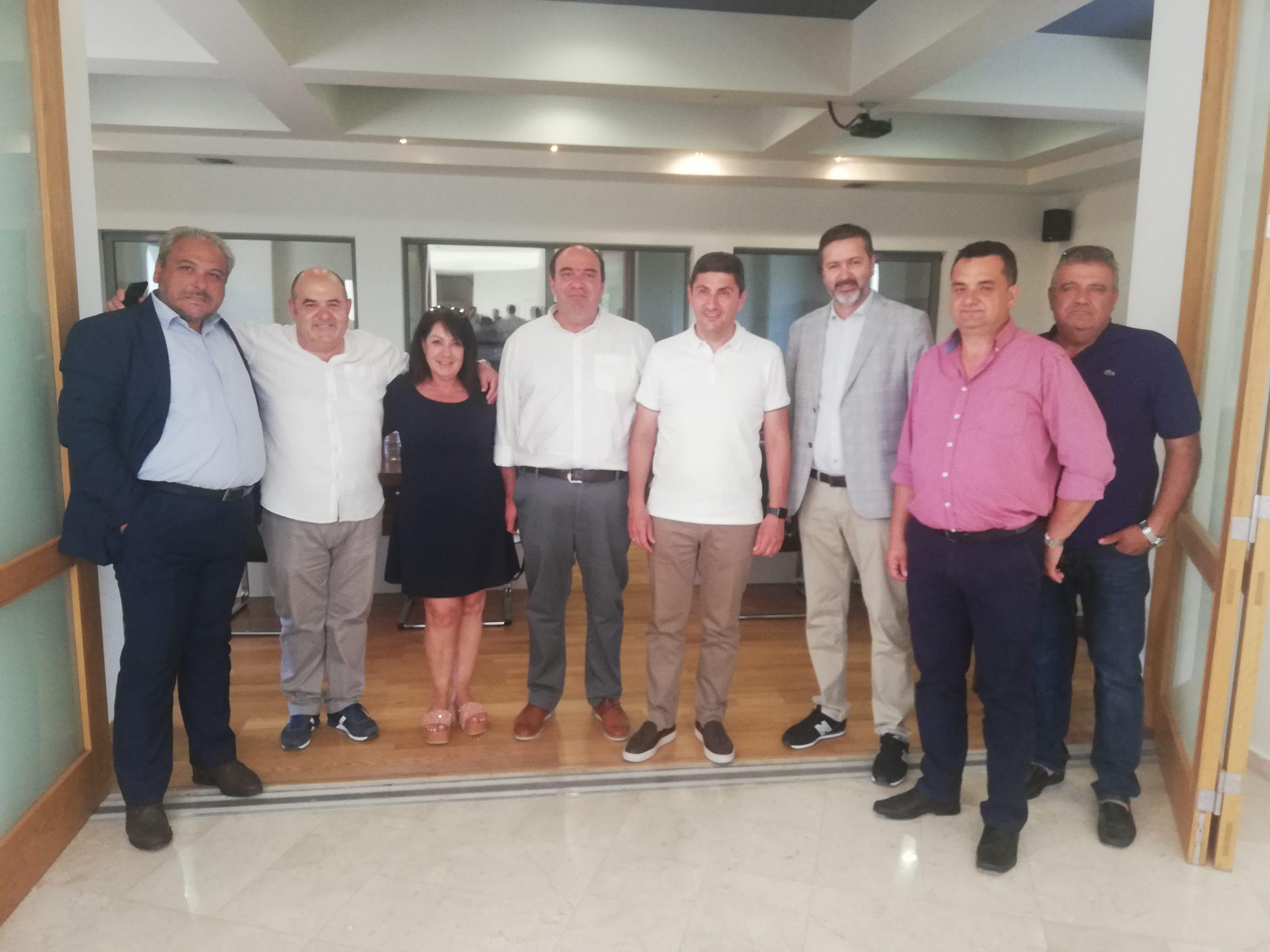 Επίσκεψη Αυγενάκη στον Δήμο Αρχανών – Αστερουσίων