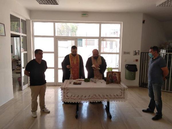Πρώτο κουδούνι και Αγιασμός στο Δημοτικό Σχολείο Πύργου