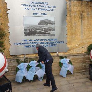 Εορταστικές εκδηλώσεις για την Εθνική Επέτειο της 28ης Οκτωβρίου στο Δήμο Πλατανιά