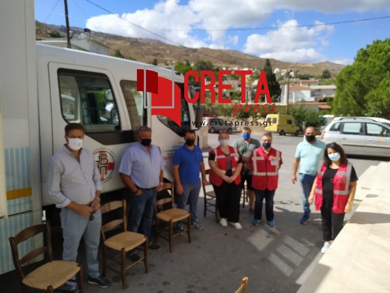 Με επιτυχία η εθελοντική αιμοδοσία του Δήμου «Αιμοδοτούμε μαζι»