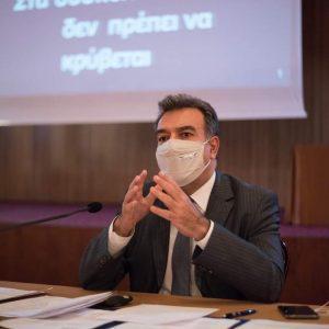 ΜΑΝΟΣ ΚΟΝΣΟΛΑΣ: «Στόχος μας να ενισχύσουμε το brand της Ελλάδας ως ασφαλούς τουριστικού προορισμού απέναντι στην πανδημία»