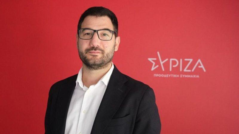 Νάσος Ηλιόπουλος: Το πανό στο Πανεπιστήμιο Πειραιά που προσβάλει τη μνήμη του Παύλου Μπακογιάννη είναι απόλυτα καταδικαστέο