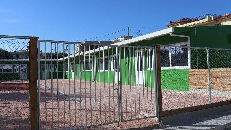 Ηράκλειο: Έτοιμες οι δέκα αίθουσες για τις ανάγκες της προσχολικής αγωγής