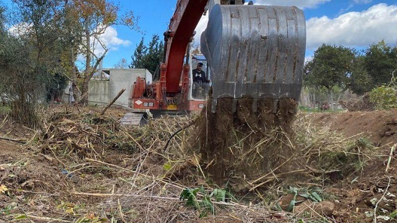 Δήμος Φαιστού: Συνεχίζονται οι καθαρισμοί και οι διανοίξεις ρεμάτων