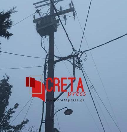 Διακοπή ρεύματος σε Αχεντριά και Εθιά